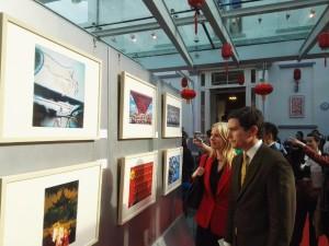 """Vernissage de l' """"Incroyable Shanghaï"""""""