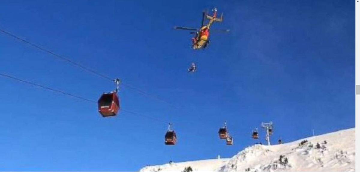 Les grandes manoeuvres pour évacuer skieurs